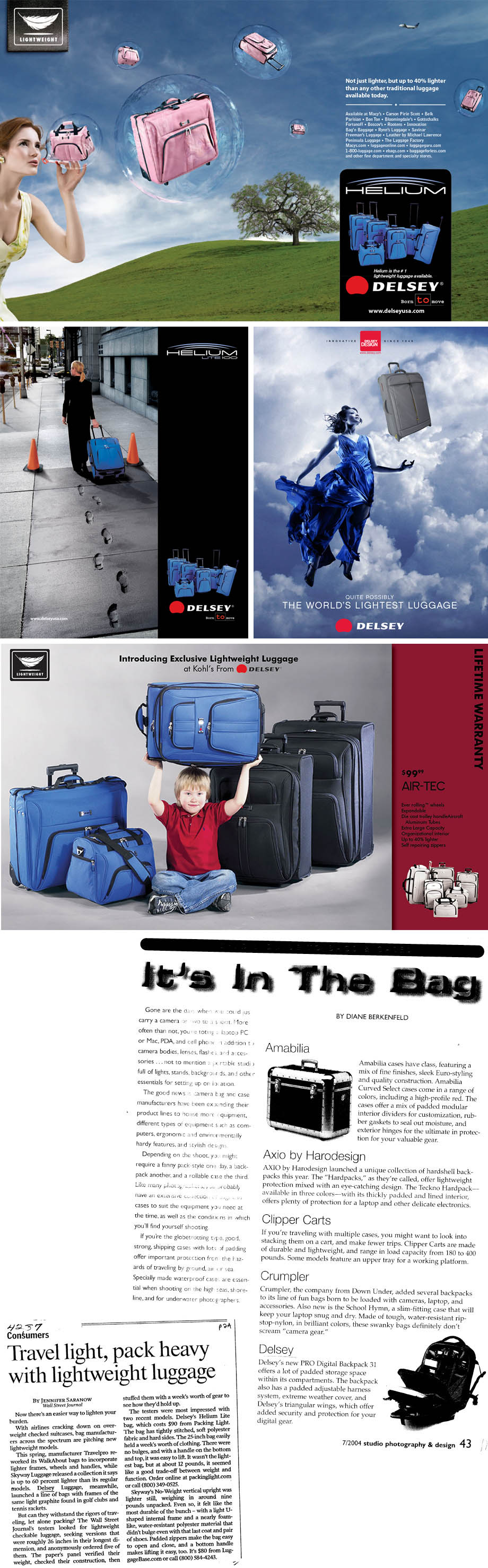 16629caa2 ... USA Today, Los Angeles Times, U.S. News & World Report, Travel Lady,  and The New York Times. Winner of a Smart Money Award 2005 for Best Carry-On  Bag.